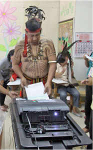 Democratic participation - Election technology