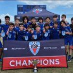 U14 Elite Coach Marcos De Godoy Champion's EDP League Spring Season 2021