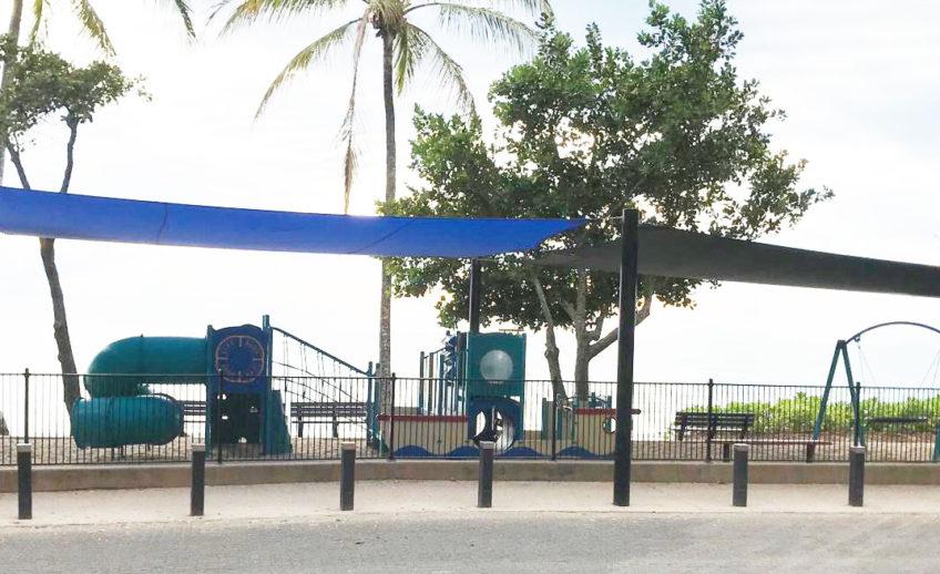 Palm Cove Beach playground