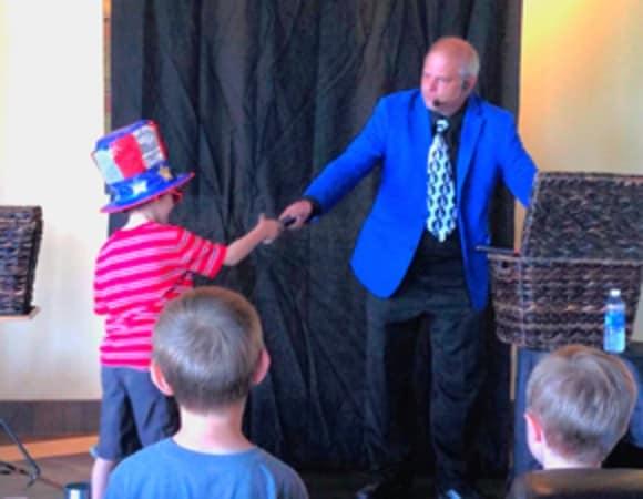 Chalfont Kids Love magic with Rick Dz