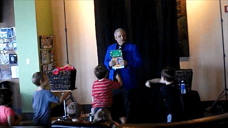 Rick DZ Performs at super fun birthday parties