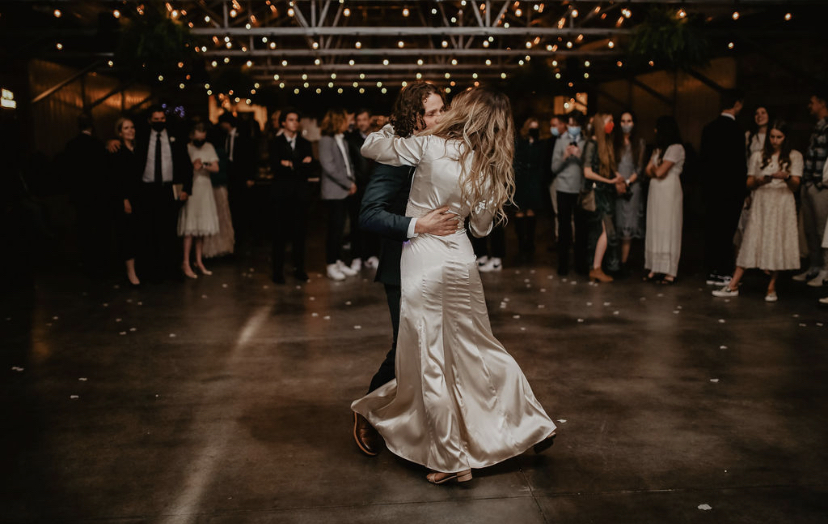 wedding dancing at Glasshouse Venues