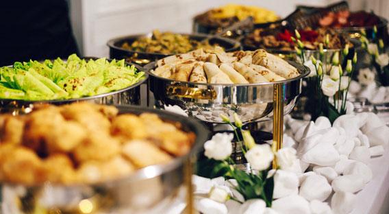 catering spread