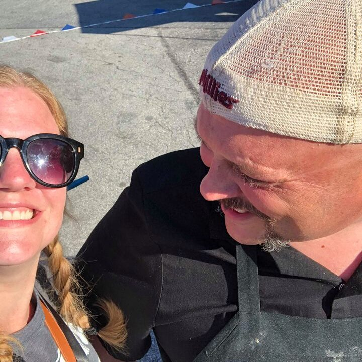 Heather Cox with Maiale Deli Owner Billy Rawstrom