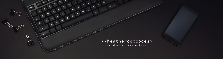 Heather Cox Web Designer in Delaware 2021