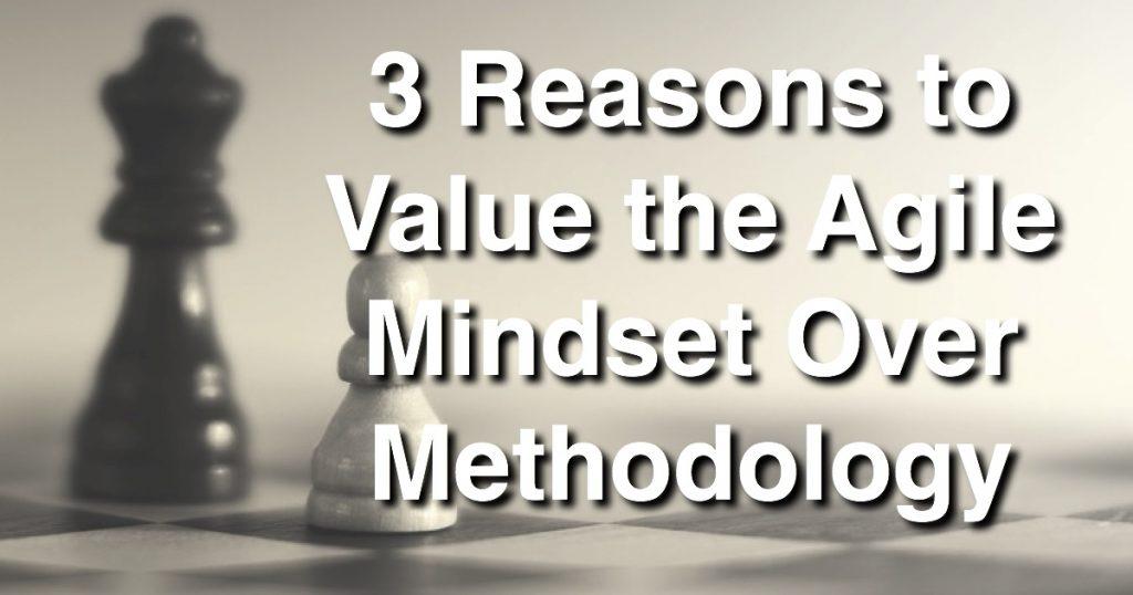 Blog: 3 Reasons to Value the Agile Mindset Over Methodology