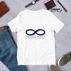 Short-sleeve t-shirt with Timeless Agility Logo