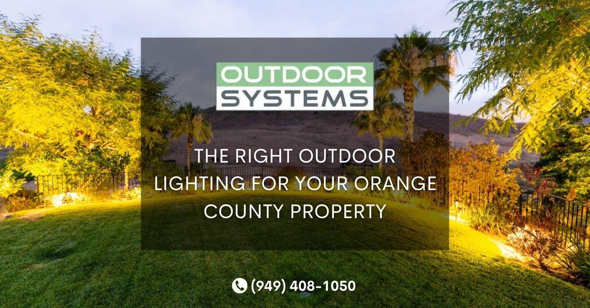 Outdoor Lighting Orange County