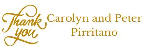 Carolyn and Peter Pirritano
