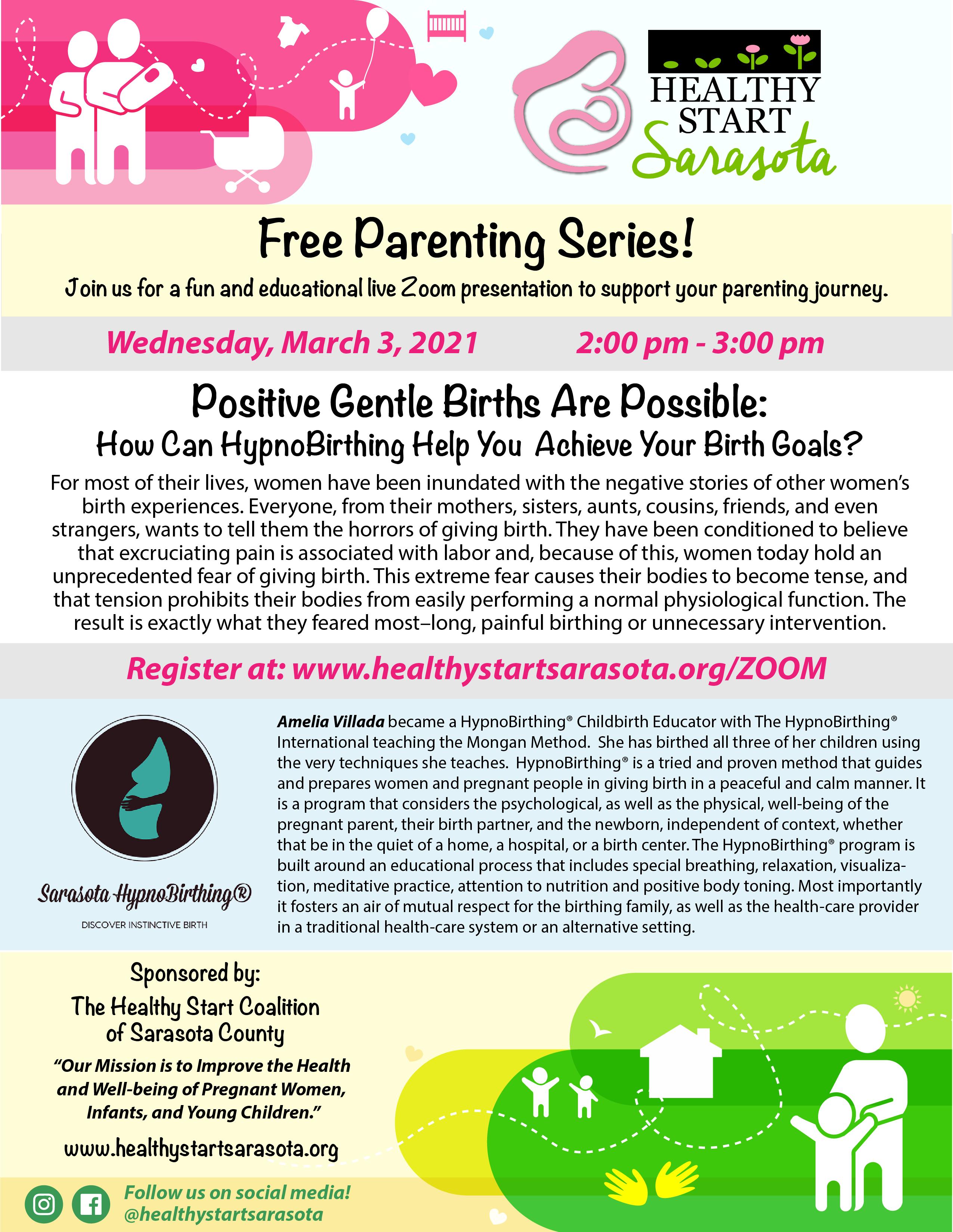 HealthyStart Parenting Series-Hypno