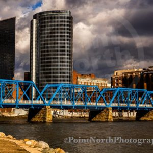 Point North Photography-Jeff Wier-Blue Bridge Grand Rapids