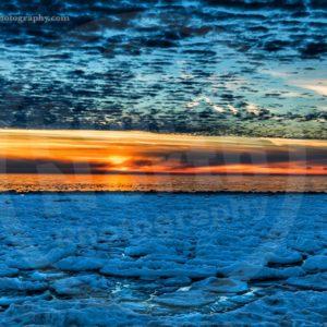 Point North Photography-Jeff Wier-Frozen Sunset