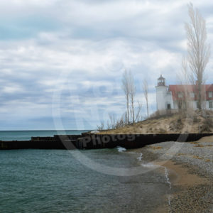 Point North Photography-POINT BETSIE LIGHTHOUSE MIST