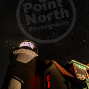 Point North Photography-POINT BETSIE LIGHTHOUSE STARY NIGHT