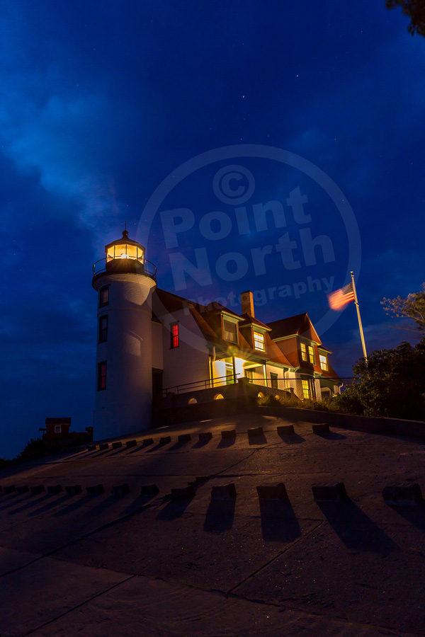 Point North Photography-POINT BETSIE NIGHT