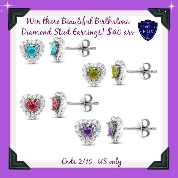 BHS Earrings Button