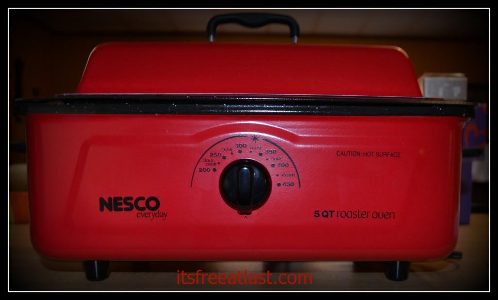 Nesco Roaster Front View
