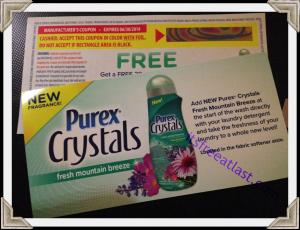 Purex Freebie Coupon