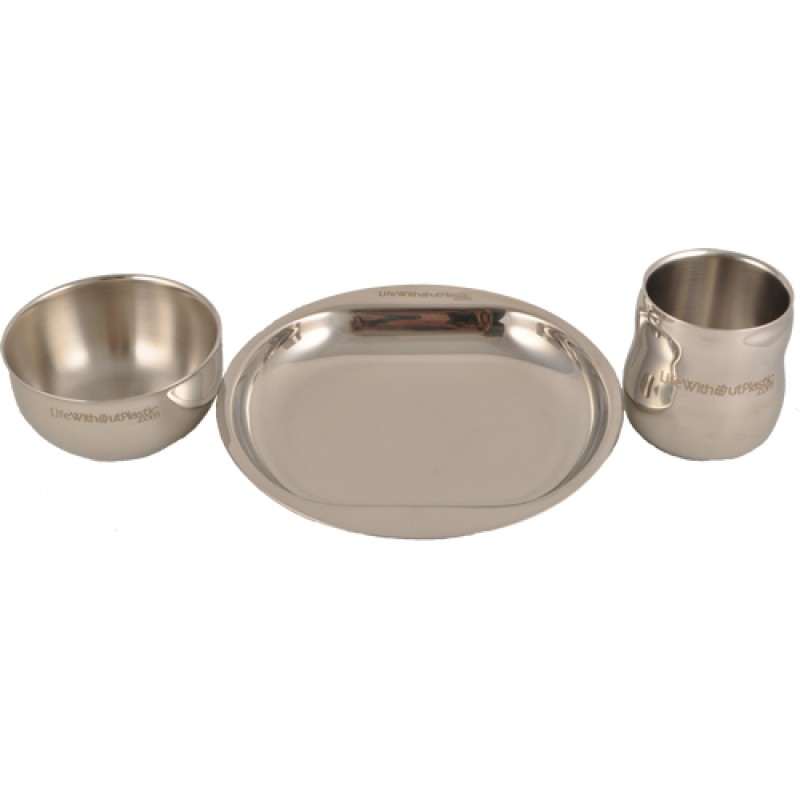 3 piece dish set