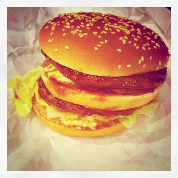 Mega Teriyaki Burger