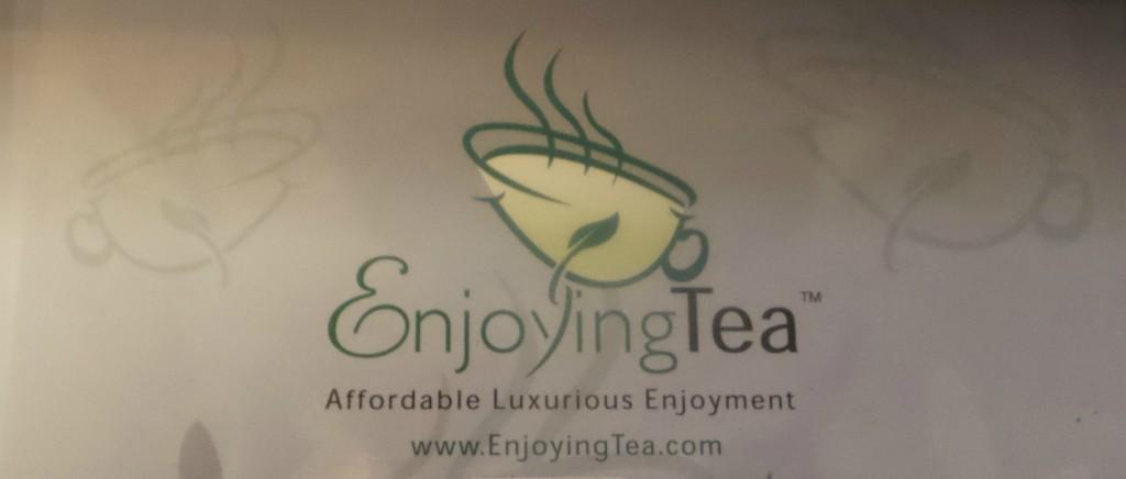 Enjoying Tea Logo