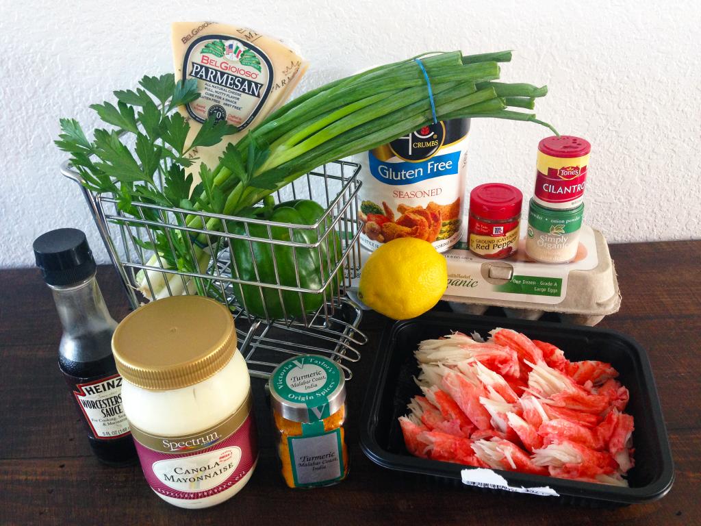Crab Cakes Ingredients