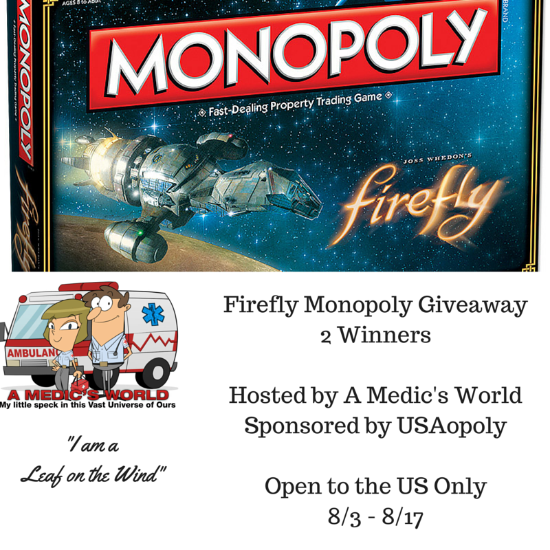 Firefly Monopoly Giveaway
