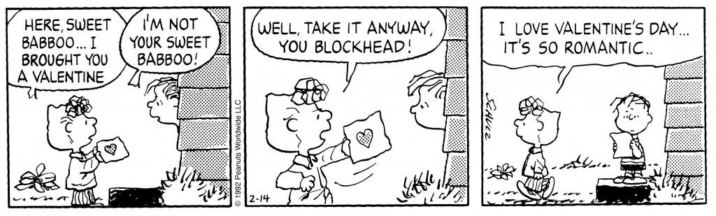 Sally Peanuts Valentines Day
