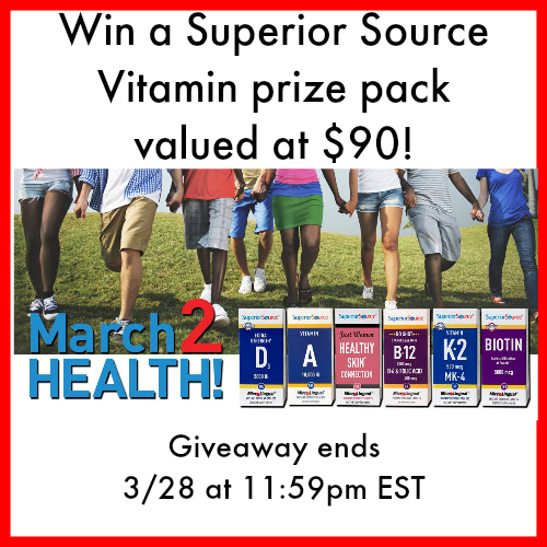 March Superior Source Giveaway