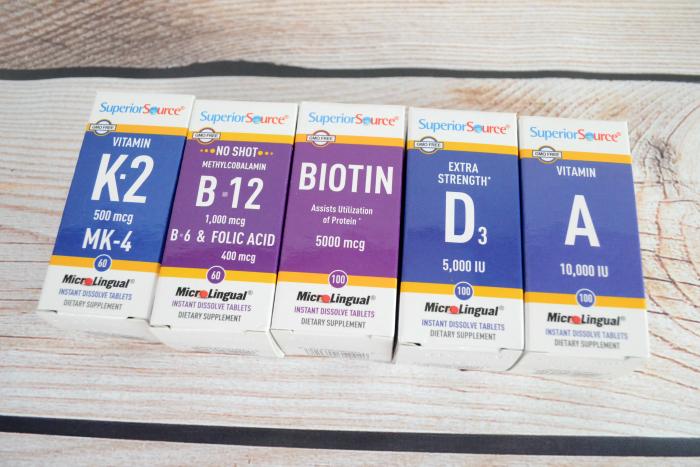 Superior Source March Vitamin Health