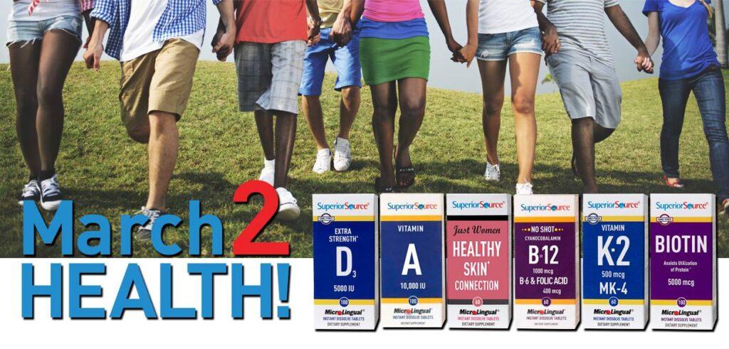 superior source march 2 health