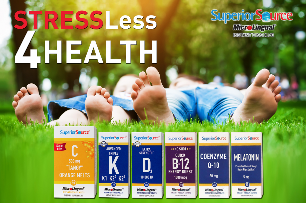 April Stress Less For Health Superior Source