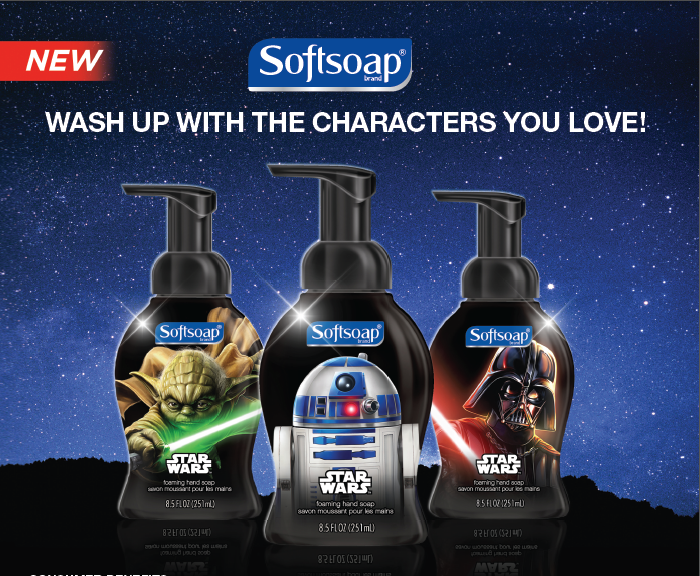Star Wars Soft Soap