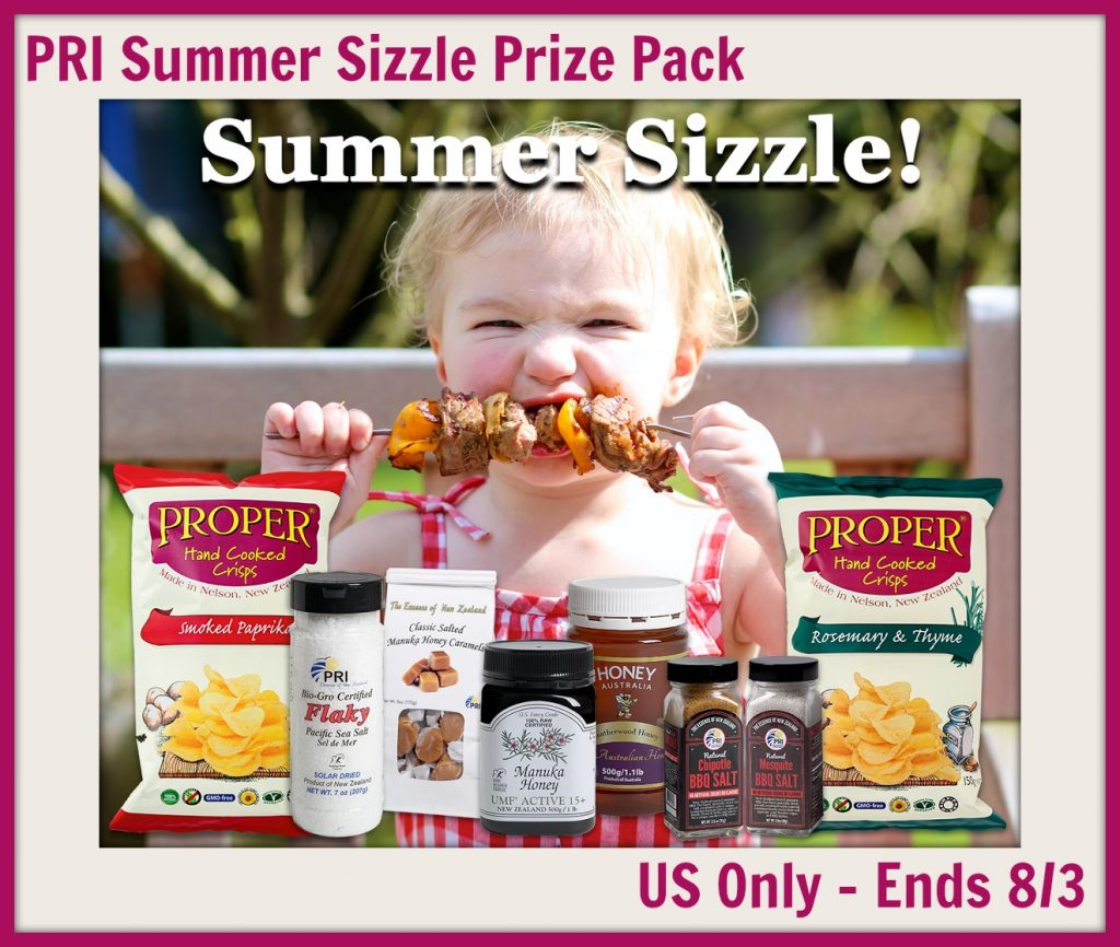Summer Sizzle Giveaway
