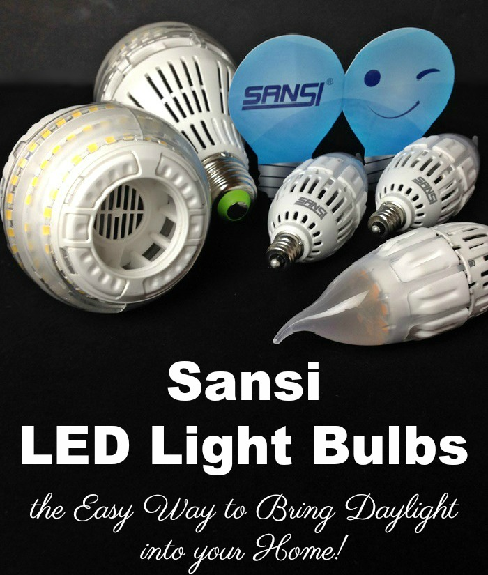 Sansi LED Light Bulbs are the Easy Way to Bring Daylight into your Home #MegaChristmas17