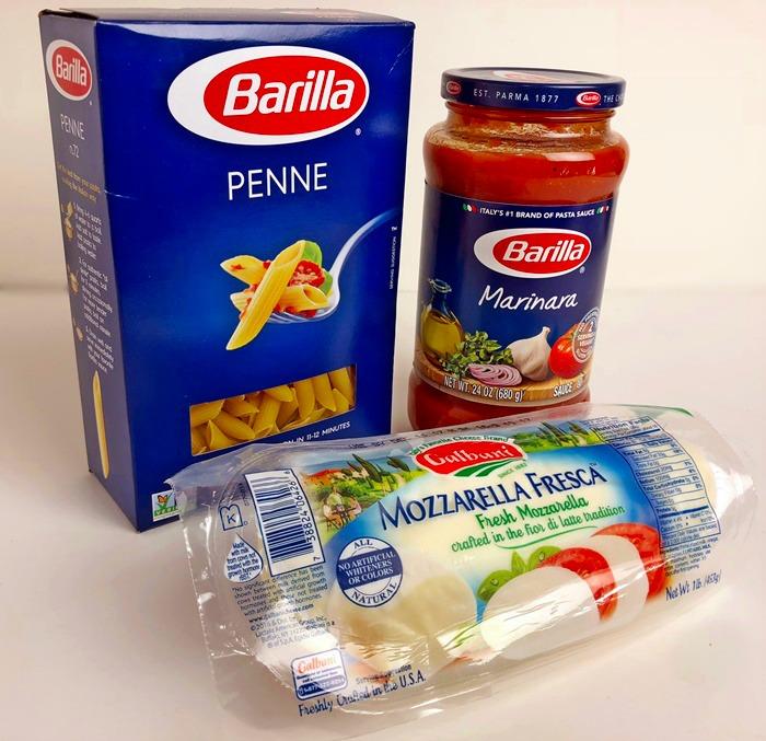 Barilla Pasta dn Barilla Marinara