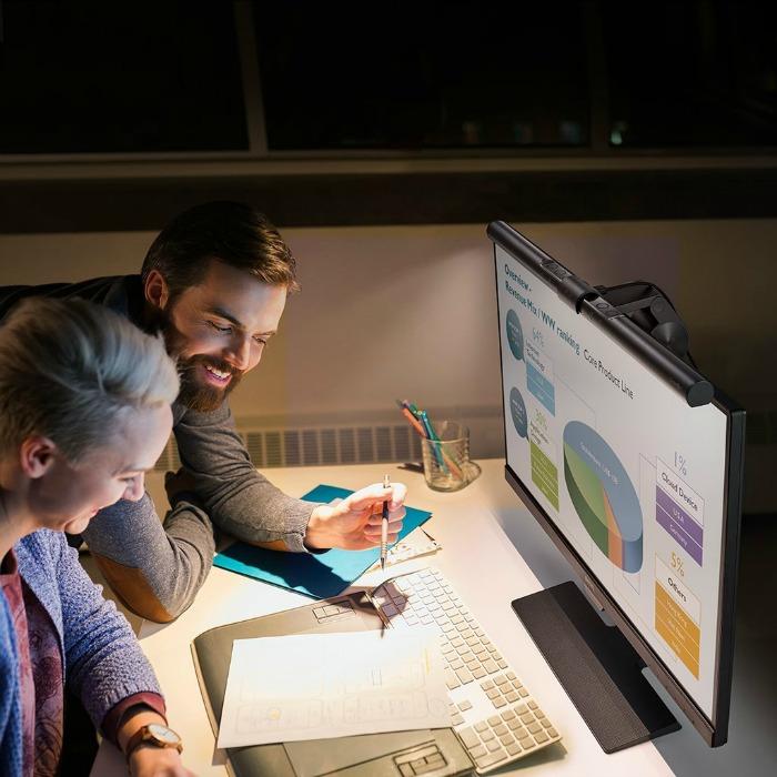BenQ ScreenBar Lamp Provides Perfect Lighting for Computer Users!