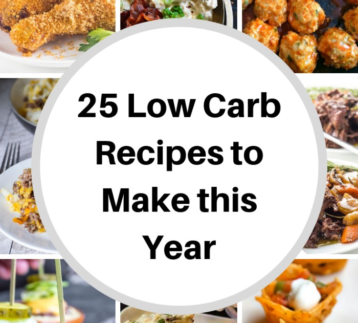 25 Low Carb Recipes to Make This Year