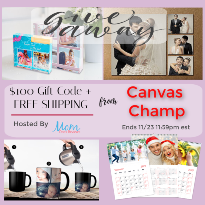 #Win $100 Gift Code From Canvas Champ