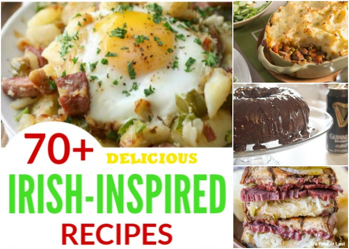 70+ Delicious Irish-Inspired Recipes You Will Want to Make this St. Patrick's Day