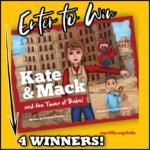 4 Winners- Kate & Mack and Towel of Babel Book!