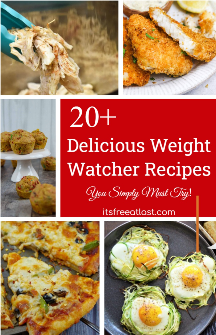 20+ Delicious Weight Watcher Recipes You Simply Must Try