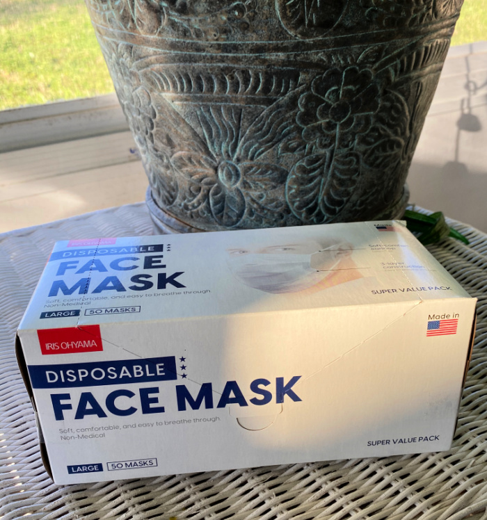IRIS' Disposable Face Masks (Made in the USA)