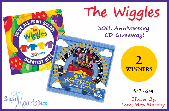 The Wiggles 30th Anniversary CD Prize Pack Giveaway! ~ 2 Winners