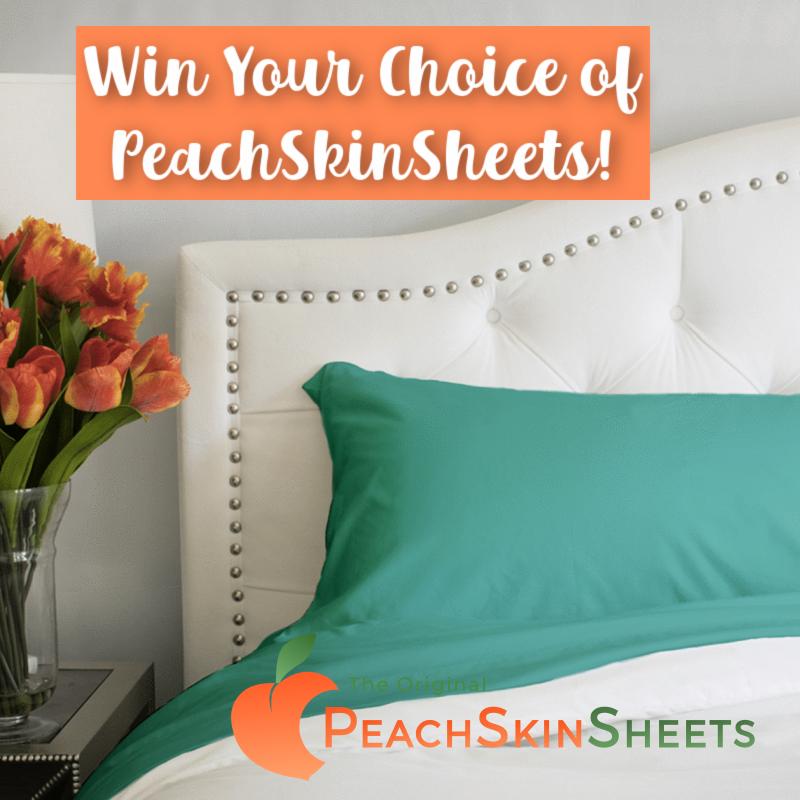 Enter to #Win a Set of Choice PeachSkinSheets #SpringIntoSummerFun