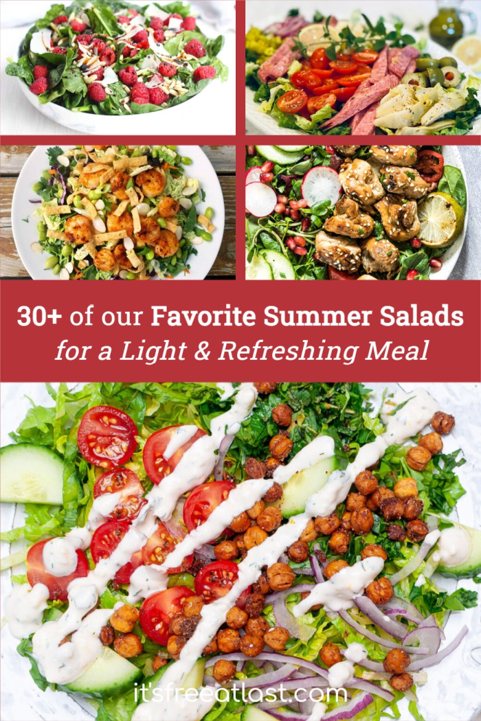 30+ of our Favorite Summer Salads for a Light & Refreshing Meal