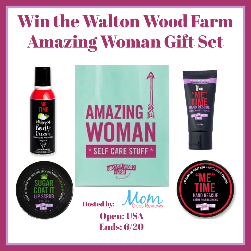 Win Walton Wood Farm Amazing Woman Gift Set