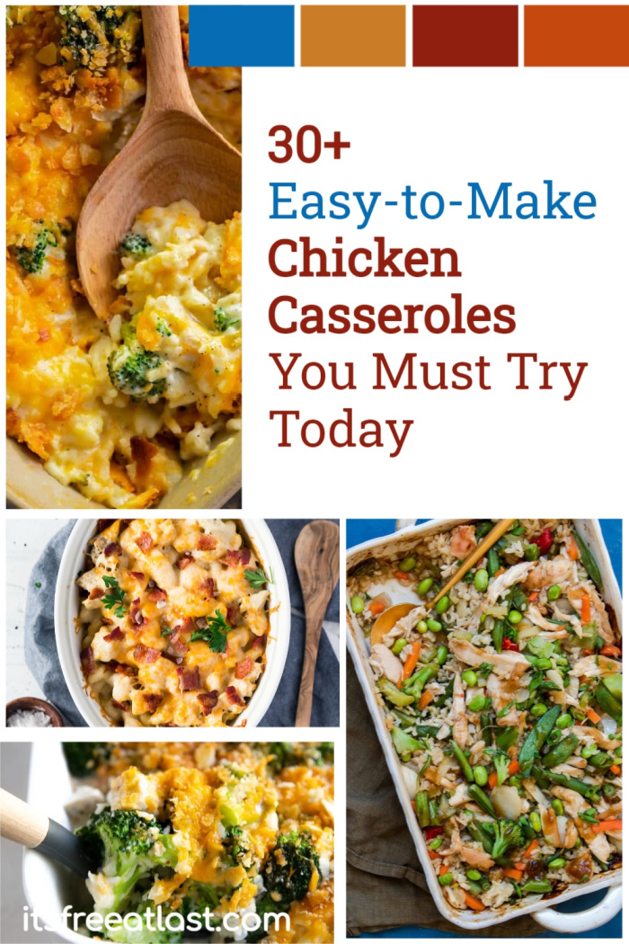 30+ Easy-to-Make Chicken Casseroles You Must Try Today