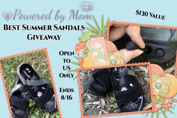 #Win Therafit Lola Sandals $130 arv