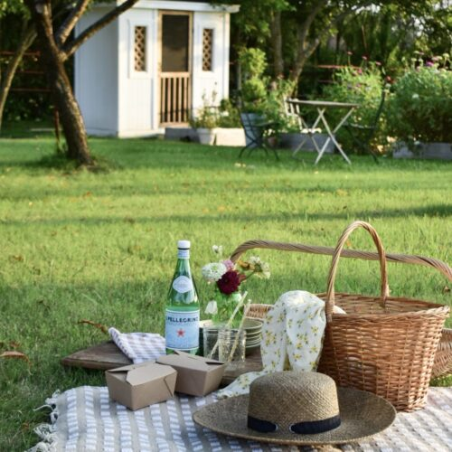 Host a simple Summer Picnic